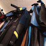 Dive center equipment