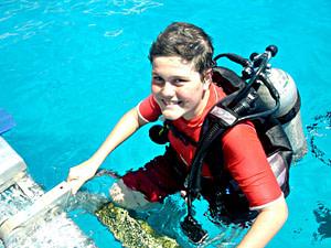 Bubblemaker bambini immersione Malta Gozo