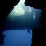 Blue Hole sito d'immersione Gozo Malta