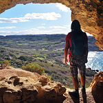 cave hiking Gozo beach