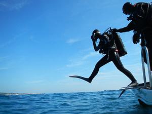 barca subacquea immersione