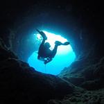 Cave Diving Blue - arhnue / Pixabay